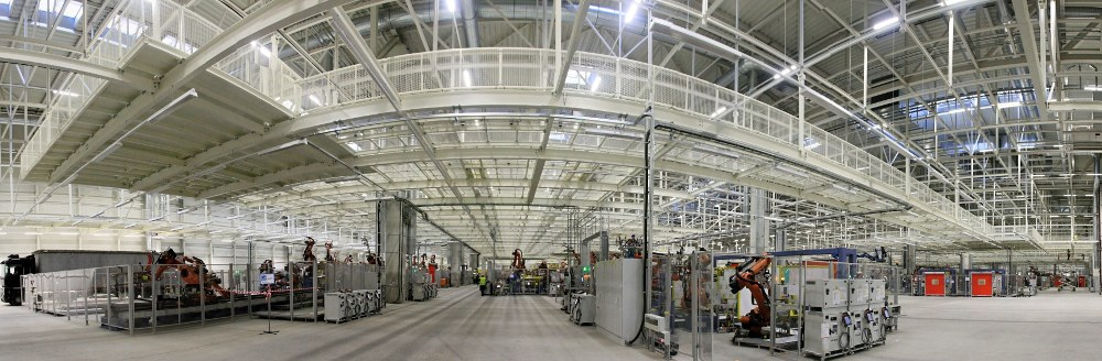 Production Hall of VOLKSWAGEN Slovakia